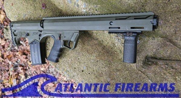 Black Aces Tactical Bullpup Pump Shotgun- Green- Left Hand- BATBPPGRNLH