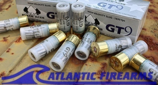 Black Aces Tactical High Velocity Slugs- 200 Round Case