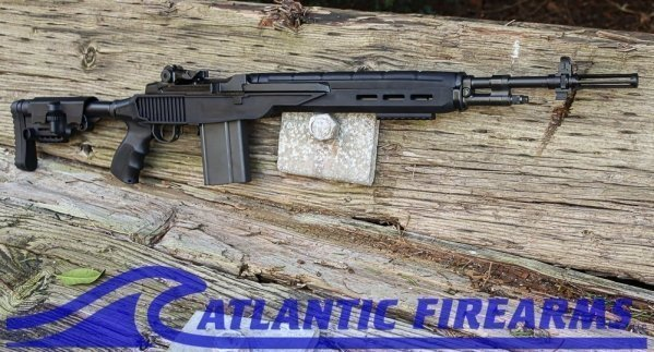 "Bula Defense M14 Paratrooper Tactical Rifle- 19.25"" Mod GI Barrel"