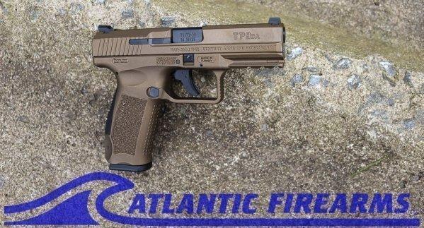 Canik TP9DA 9MM Pistol- Burnt Bronze- HG4873B-N