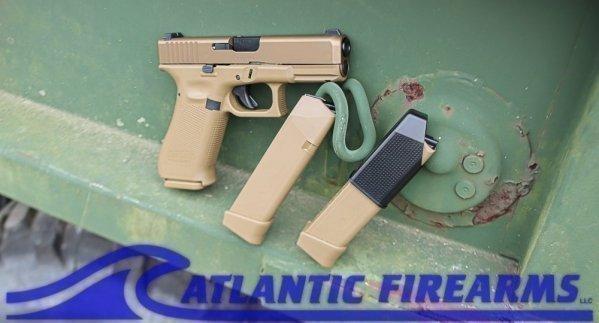 Glock 19X  Gen5 9MM Pistol Coyote Brown- PX1950703