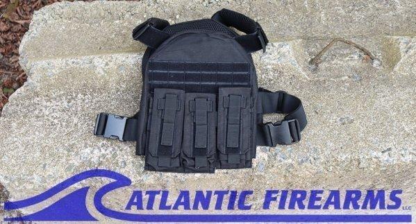 Guard Dog Armor Terrier Plate Carrier- Black