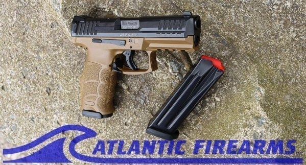 Heckler & Koch VP9 9MM Pistol- FDE- 81000225