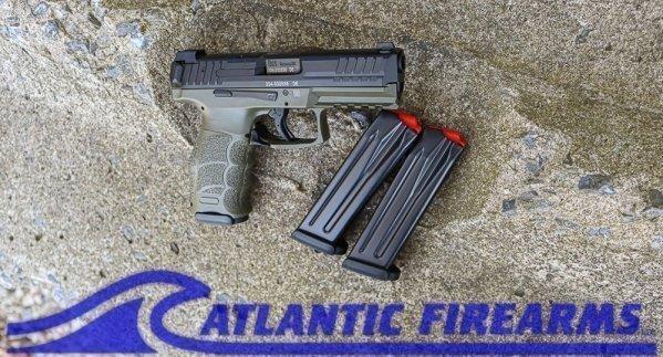 Heckler & Koch VP9 OD Green 9MM Pistol- 81000234