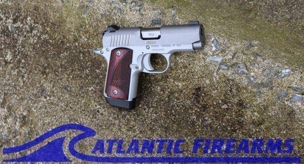 Kimber Micro 9 Stainless Pistol- Rosewood Grip-3300158