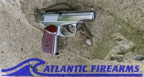 Makarov Pistol-Chrome-Arsenal Bulgaria