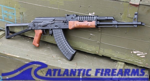 Palmetto State Armory Forged Nutmeg Triangle Side Folder AK47 Rifle  W/ Cheese Grater Handguard