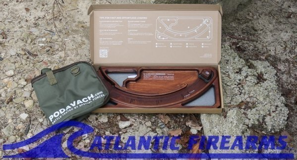 Podavach U-Loader-Natural Wood with Green Case