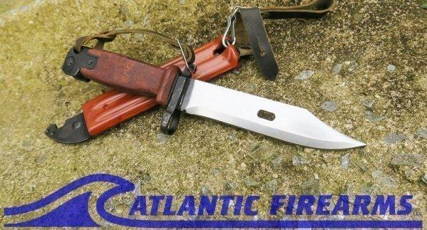 Russian AK-47 Bayonet & Scabbard-6x4-NRA Good