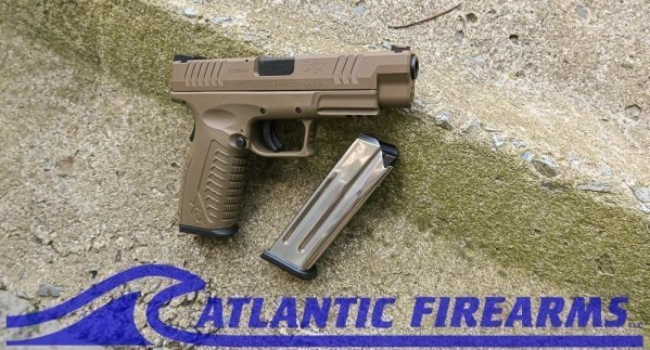 SPRINGFIELD XDM 10mm  Flat Dark Earth Pistol -XDM94510FHCE