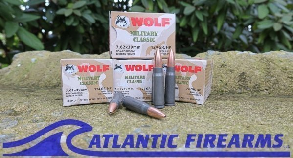 Wolf Ammunition For Sale AK47 7.62x39mm Hollow Point
