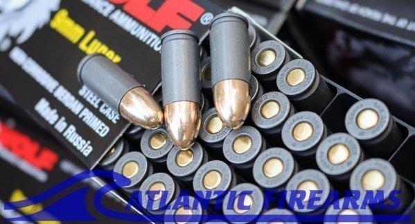 Wolf Performance 9MM Ammunition 1000 Round Case