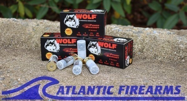 Wolf Power Buckshot 00 12 Gauge- 120 Rounds